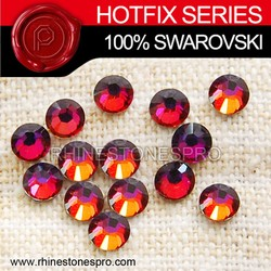 Swarovski Elements Fashionable Jewelry Volcano (VOL) 16ss Crystal Iron On Hotfix Rhinestone