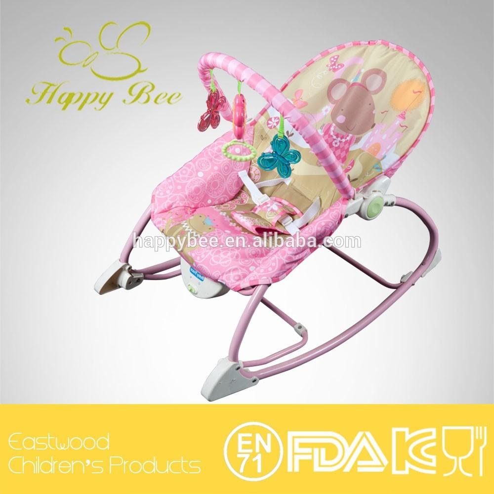 Bebé mecedora con Musical y confort vibración