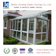white aluminium windows powder coating paint for sale