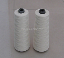 high temperature fiberglass sewing thread with ptfe/teflon coating