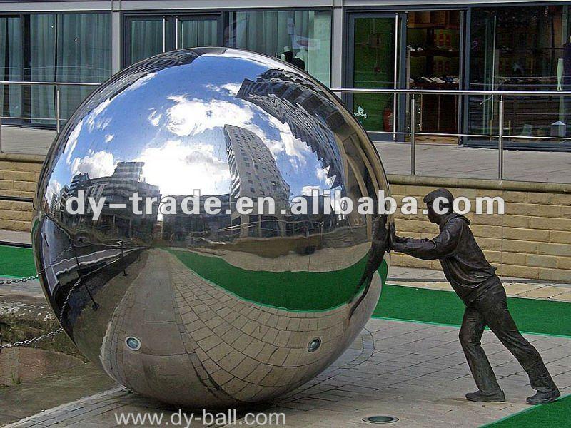 Stianless espejo esfera