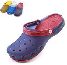 2015 summer men sport sandals EVA garden shoes