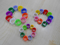 Colourful Plastic Poultry Chicken Chick Leg Ring