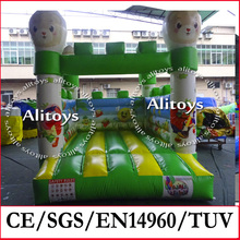 Lovely princess inflatable castles, inflatable jumping castle, bouncy castle