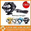 Hot Sale U5 led motorcycle projector headlight 3000 lumens 125w high beams leds motorcycle