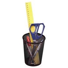 Black Wire Mesh Pencil Cup