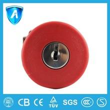 CE certificated mushroom Push Button switch