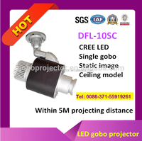 led gobo projector advertising on shop best effect and hot sell
