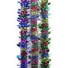 Multicolor Handmade Christmas Decorative Tinsel Garland,Indoor Wedding Decor