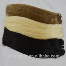 Visión sin procesar Aliexpress venta al por mayor brasileña virginal de la armadura del pelo hh Top brasileña Remi