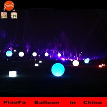hot sale walking inflatable led light advertising stand balloon with led cheap price