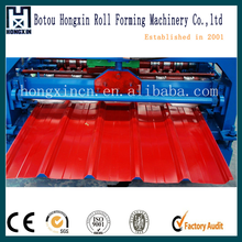 Square Fluted Profile IBR Roofing Sheet Roll Forming Machine
