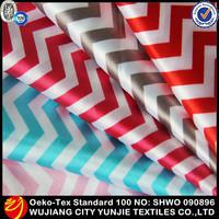 2014 Newly Corrugated printing printed stretch satin fabric