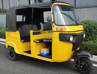 2015 new Tuk Tuk/Bajaj Auto rickshaw passenger tricycle with roof