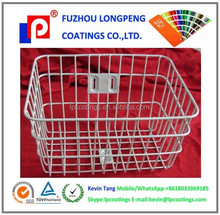 Bike basket Epoxy Polyester Powder paint with ral 9016 smooth glossy