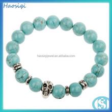 2014 best selling turquoise elastic bracelet