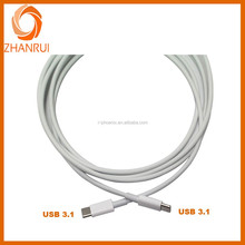 Fashionable products high speed data sync type C USB 3.1 data cable for mobile phone
