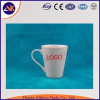 wholesale High quality 13oz custom print porcelain coffee with lid ceramic mug