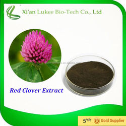 Fine Powder Red Clover Herb Extract 8%-40% Isoflavones