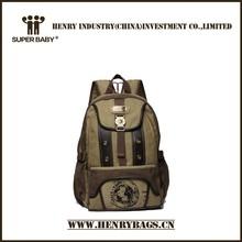 de nuevo de los diseños de lona mochila 16oz
