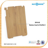 portable for ipad case hard,shockproof wood case for ipad mini air
