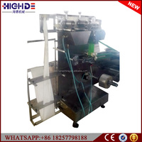 Individual automatic Hotel Airline fast food Catering Wet Towel packing machine in Afghanistan