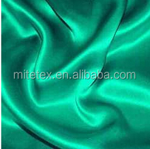 polyester plain satin fabric for garment/home textile