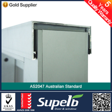 AS2047 Standard aluminum exterior sliding door with double glazed for container home