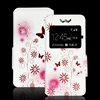 New universal colorful printed custom flip case for mobile phone case (6sizes )