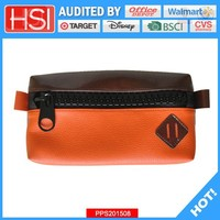 free sample artificial leather pen bag