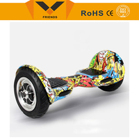 Free Shipping Portable 2 wheel lithium battery self balancing motor skateboard electric scooter