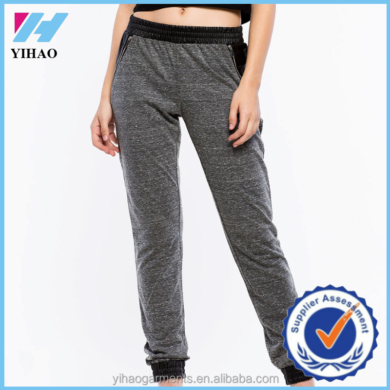 Simple  Pants  Buy 2015 Fashion Ladies PantsWomen White Jogger Pants 2015