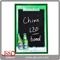 Supplier for cheap LED magnetic writing board, restaurant menu board LED