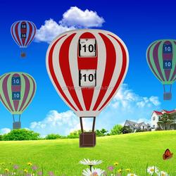 MK-Time Factory Direct Sale Funny Design Balloon Flip Kids' Clock