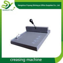 Hand Manual die cutting and creasing machine office high quality