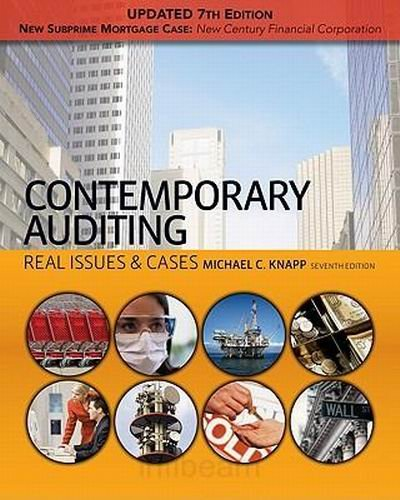 complete instructor s manual to contemporary auditing real issues cases Download all chapters of solutions manual for contemporary auditing real issues & cases 7th edition by knapp.