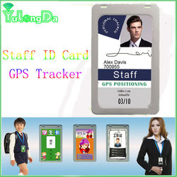 H91A ID card portable Personal GPS tracker spy mini realtime gps gsm gprs tracker