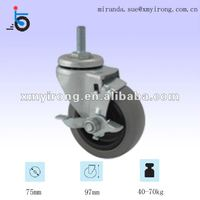baby crib wheels all size plastic fixed caster furniture wheel small swivel castor side mount wheels casters