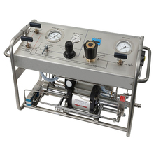 hydraulic pump test bench for safety valve