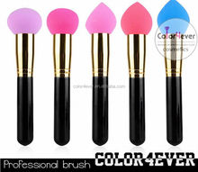 High quality cosmetic colorful makeup sponge brushes whole manufacturer Finishing Makeup Puff
