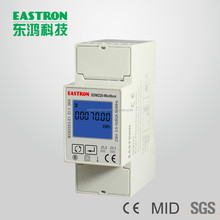 SDM220-Modbus, energy monitor, power quality meter, Power analyzer, RS485, 10(80)A