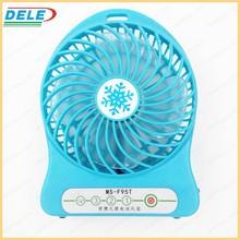 hot sale rechargeable mini battery travel fan usb fan