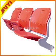 BLM-4362 Chinese Professional Manufacture Customize Outdoor Furniture Stadium Vip Seats Folding Plastic Chair with Steel Frame