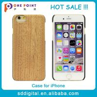 Hot sale popular wooden cell phone case for iphone6