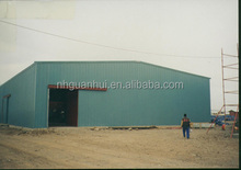 Fire rated 25*50 meter structural steel ware house building
