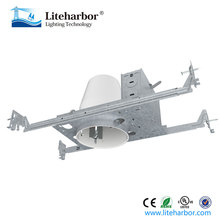 Liteharbor new construction NON-IC common recessed 4 inch can lights for North American market