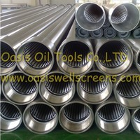 stainless steel wire wrapped well drilling water pipe strainer filter