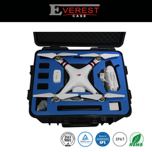 Hard Plastic Carrying Case for DJI Phantom 3 Standard or Advanced or Professional Quadcopter Black