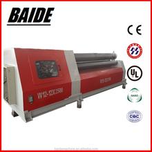 Four roller plate bending machine ,W12 CNC sheet metal rolls machine