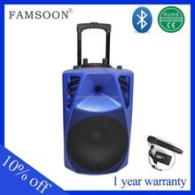 active speaker 15'' portable car radio peugeot 407